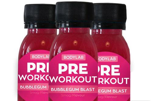 Pre workout forside billede