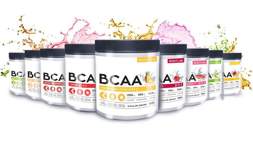 Bodylab 3 BCAA forside