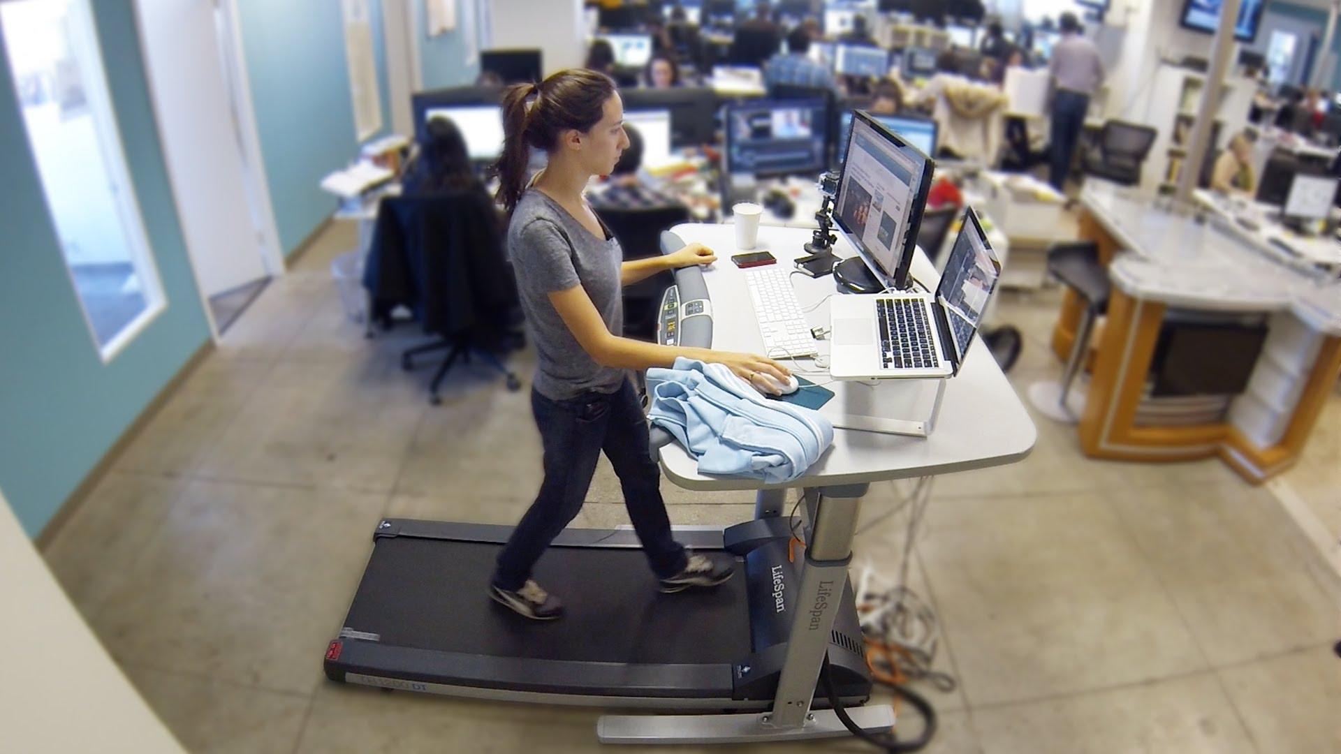 skrivebordsløbebånd